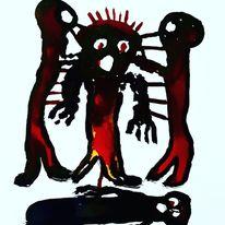 Tod, Außenseiter, Kultur, Malerei