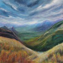 Berge, Himmel, Weite, Landschaft