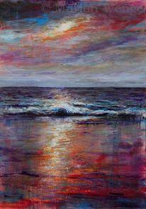 Stimmung, Meer, Küste, Wasser