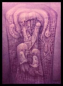 Malerei, Beksinski, Giger, Zeichnen