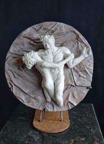 Skulptur, Szene, Figurativ, Akt