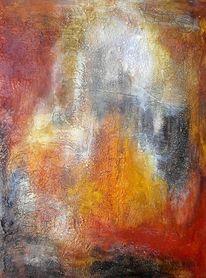 Pastellmalerei, Erde, Marmormehl, Intuition