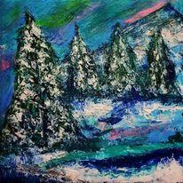 Black forrest, Schnee, Schicht, Tanne
