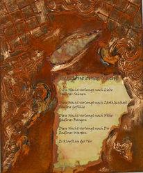 Rost, Nacht, Gedicht, Fantasie