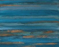 Blau, Farben, Rhapsodie, Patina