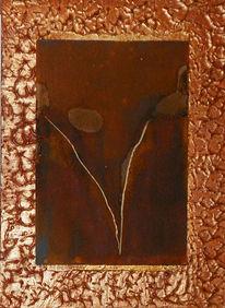 Rost, Venusdelta, Collage, Patina