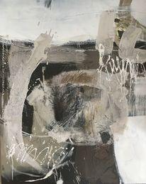 Acrylmalerei, Mischtechnik, Abstrakt, Malerei