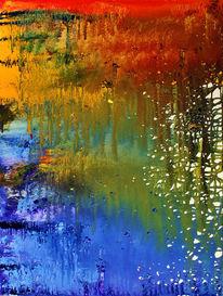 Entstehung, Farben, Expressionismus, Malerei