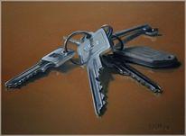 Schlüssel, Malerei