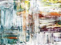 Ölmalerei, Stylisch, Interieur, Flur