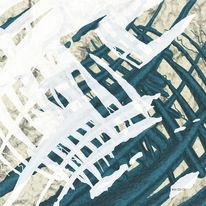 Zeit, Erosion, Gitter, Digitale kunst