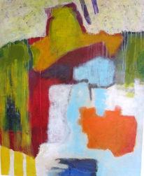 Farbanordnungen, Überlagerung, Fläche, Malerei