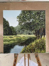 Baum, Stimmung, Landschaft, Natur
