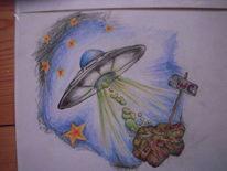 Alien, Malerei