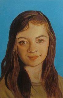Portrait, Ölmalerei, Malerei
