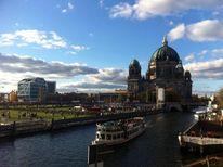 Schiff, Dom, Dampfschiff, Berlin