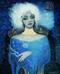 Blau, Weiß, Nacht, Gold