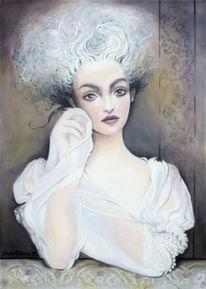 Gesicht, Grazyna federico, Gestaltung, Malerei