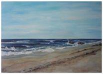 Landschaft, Meer, Strand, Weite