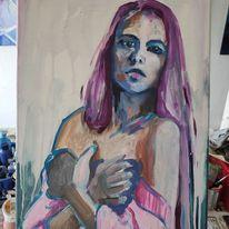 Frau, Menschen, Portrait, Malerei