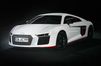 Audi, Schwarz weiß, Auto, Malerei