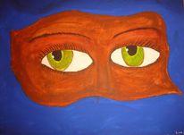 Auge erotik, Malerei