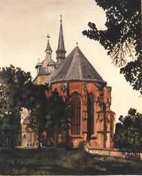 Stadtkirche, Mittweida, Malerei, Ölmalerei