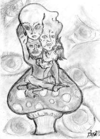 Gemeinschaft, Augen, Hören, Pilze