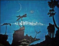 Eding, Science fiction, Fantasie, Acrylmalerei