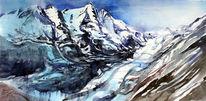 Hohe tauern, Gletscher, Berge, Austria mountain