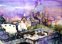 Paris, Dach, Kirche, Saint augustin
