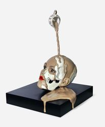 Clay, Skulptur, Lippen, Contemporaryart