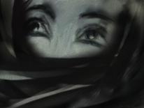 Frau, Augen, Fantasie, Malerei