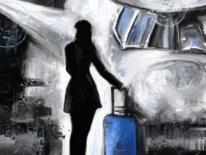 Fantasie, Reise, Fliegen, Frau