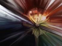 Bunt, Freude, Regenbogen, Frau