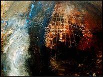 Acrylmalerei, Abbild, Symbolik, Fantasie