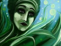 Fantasie, Gesicht, Digitale kunst, Surreal