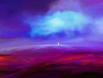Frau, Moment, Wolken, Fantasie