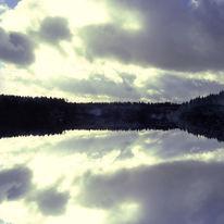 Himmel, Dunkel, Wolken, Licht