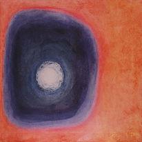 Wasserloch, Stimmung, Malerei