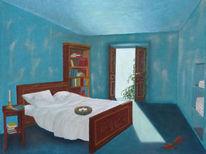 Raum, Surreal, Licht, Traum