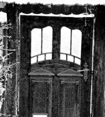 Tür, Frost, Winter, Fotografie