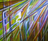 Menschen, Formen, Farben, Malerei