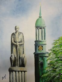 Acrylmalerei, Bismarck, Malerei