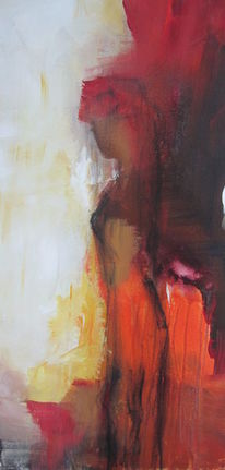 Rot, Abstrakt, Akt, Madame