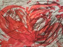 Malerei, Schmerz, Herz,