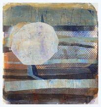 Landschaft, Abstrakt, Streifen, Runde formen