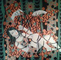 Murakami, Malerei