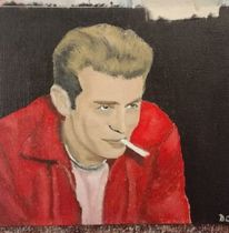 James dean, Hollywood, Wissen, Malerei