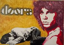 Jim morrison, The doors, Light my fire, Malerei